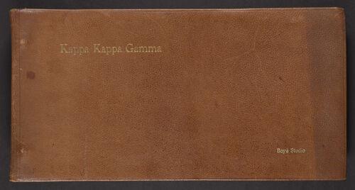 Beta Eta Scrapbook, 1920s