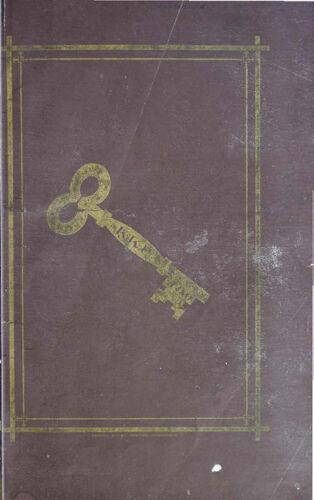 The Golden Key, Vol. 1, No. 1, May 1882 (image)