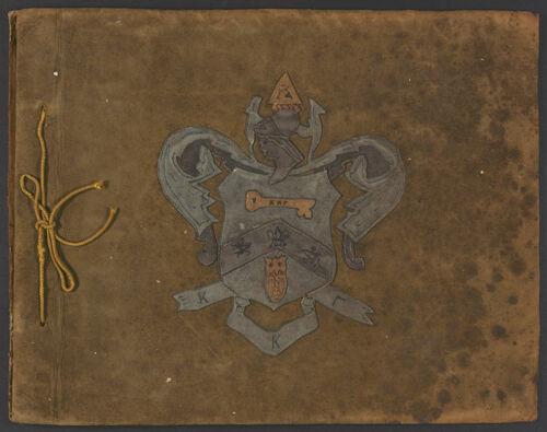 Eloise Reid Scrapbook, 1916-1920