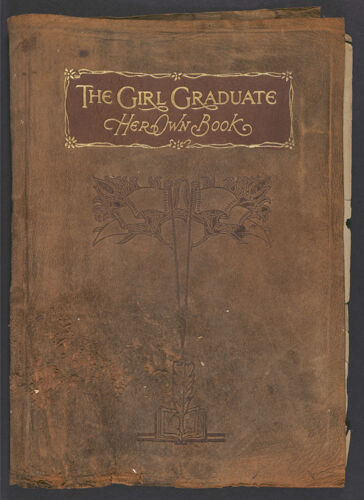 The Girl Graduate: Her Own Book, 1919-1920