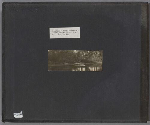 Hilda Catron Scrapbook, 1904-1908