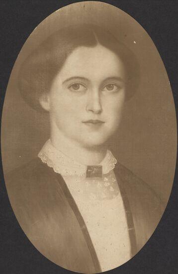 Sarah Bardwell Wright Portrait, 1853 (Image)