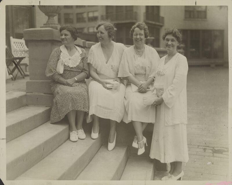 Early National Presidents Photograph, circa 1927-1930 (Image)