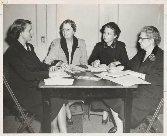 1952 Convention Planning Committee Photograph, 1952 (image)