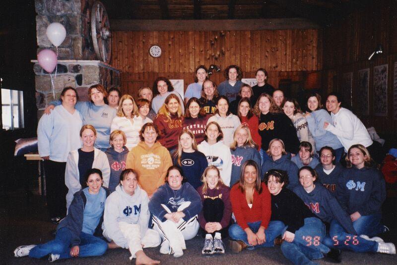 Rho Gamma Members Photograph, 1998 (Image)