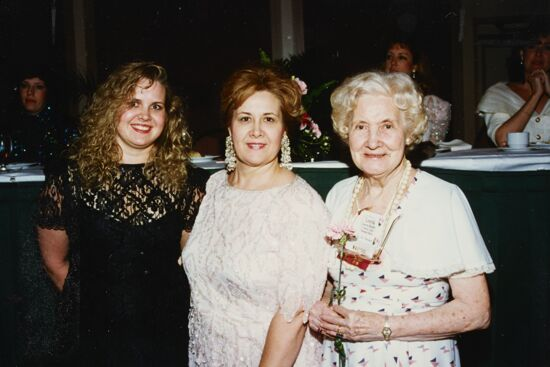 Three Generations of Phi Mus at Convention Photograph, 1994 (image)