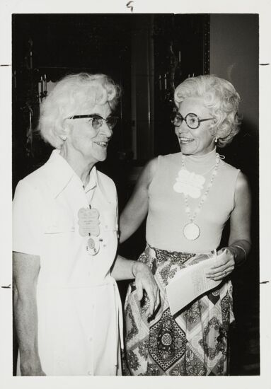 Ruth Winters and Dorothy Perkins Campbell at Convention Photograph, 1974 (image)