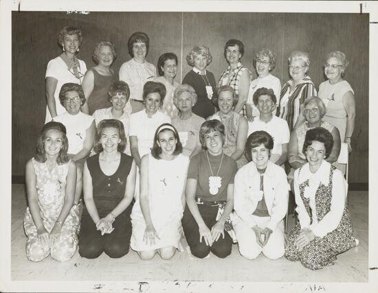 Trestella Initiates at 1970 Convention Photograph, 1970 (image)