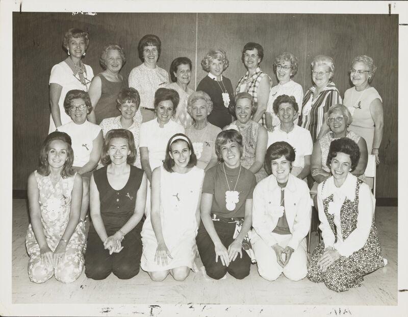 1970 Trestella Initiates at 1970 Convention Photograph Image