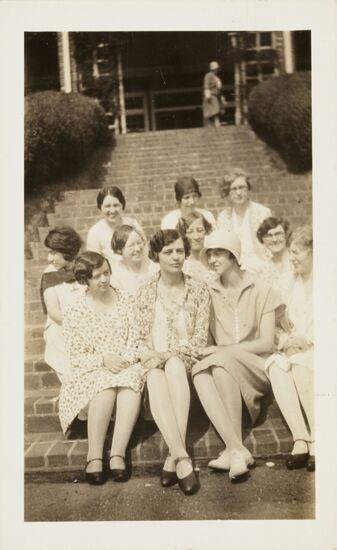 Beta Gamma Members at Convention Photograph, June 29, 1929 (image)