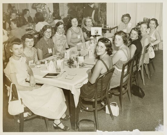 Ohio Group at Centennial Convention Photograph, 1952 (image)