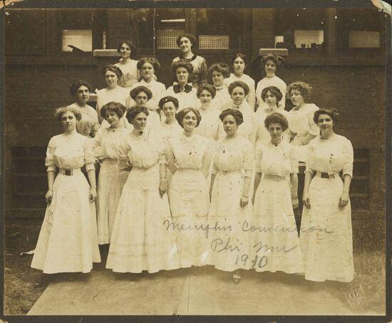 Memphis Convention Group Photograph, 1910 (Image)