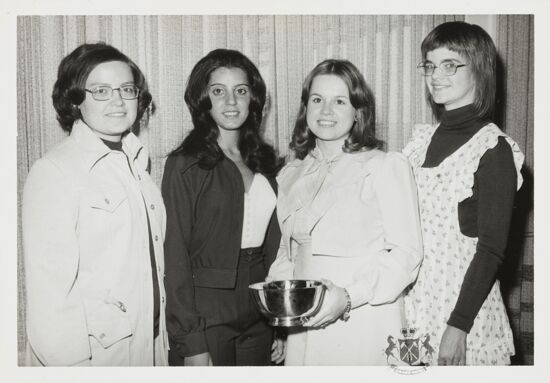 Social Service Award Winners Photograph, 1974 (image)