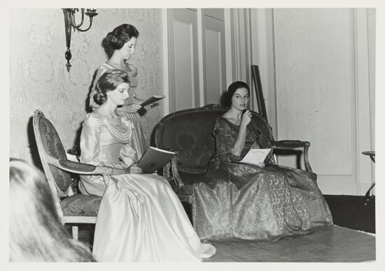 Dallas Alumnae Chapter Members in Founders' Skit Photograph, 1972 (image)