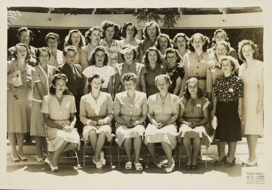 California Phi Mus at Grand Hotel Photograph, 1946 (image)