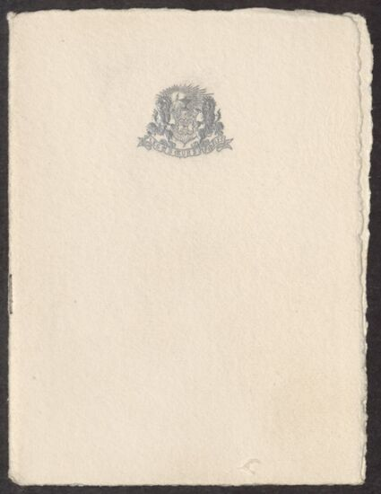Eighth National Convention Dinner Program, July 1, 1921 (Image)