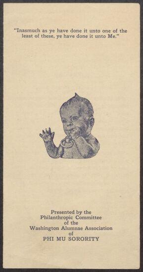 Health Mobile Brochure, c. 1922 (Image)