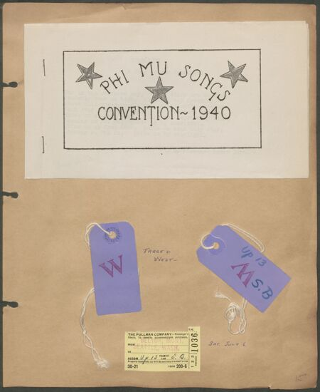 Marion Phillips Convention Scrapbook, Page 13 (Image)