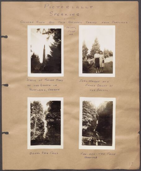 Marion Phillips Convention Scrapbook, Page 16 (Image)