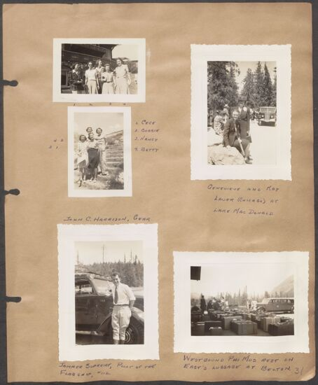 Marion Phillips Convention Scrapbook, Page 28 (Image)