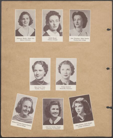 Marion Phillips Convention Scrapbook, Page 31 (Image)