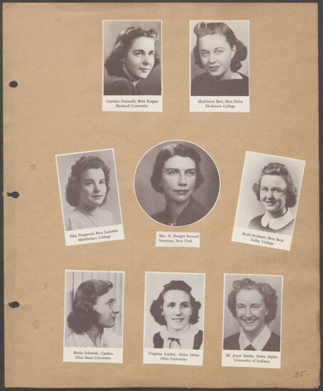 Marion Phillips Convention Scrapbook, Page 32 (Image)