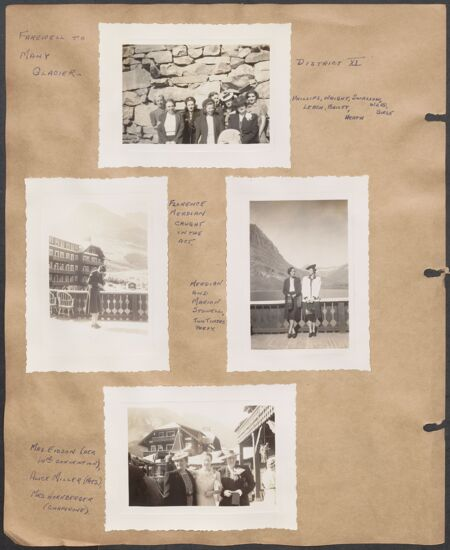 Marion Phillips Convention Scrapbook, Page 25 (Image)
