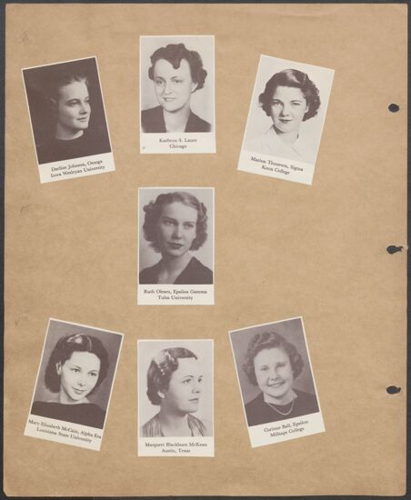 Marion Phillips Convention Scrapbook, Page 33 (Image)