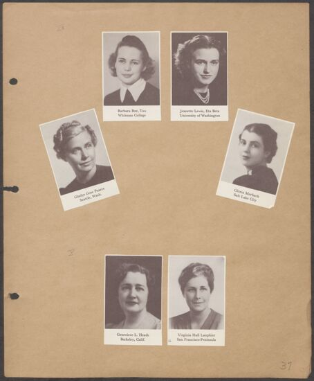Marion Phillips Convention Scrapbook, Page 34 (Image)