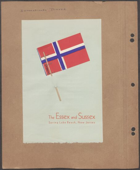 Marion Phillips Convention Scrapbook, Page 39 (image)