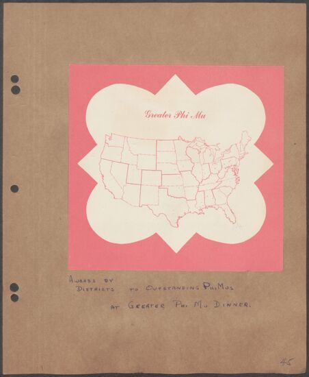 Marion Phillips Convention Scrapbook, Page 40 (image)