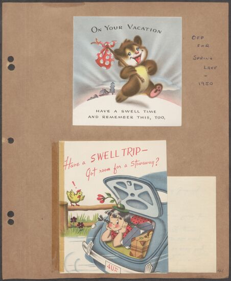 Marion Phillips Convention Scrapbook, Page 36 (image)