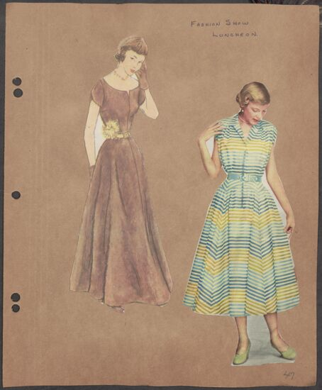 Marion Phillips Convention Scrapbook, Page 42 (image)