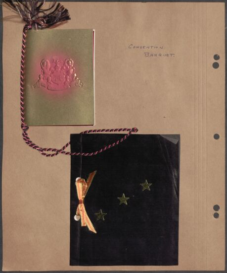 Marion Phillips Convention Scrapbook, Page 43 (image)