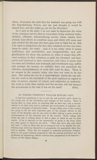 By Former President William Howard Taft (Image)
