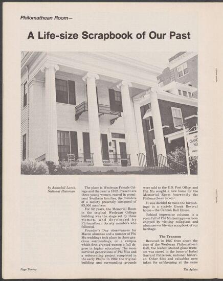 A Life-Size Scrapbook of Our Past (image)