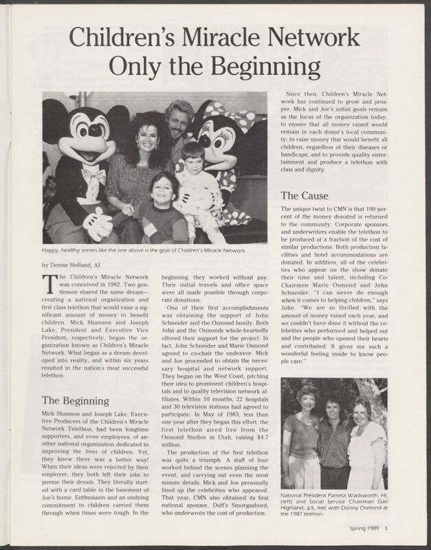 Children's Miracle Network Only the Beginning Image
