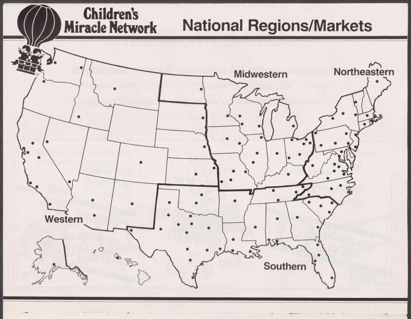 Children's Miracle Network National Regions/Markets Image