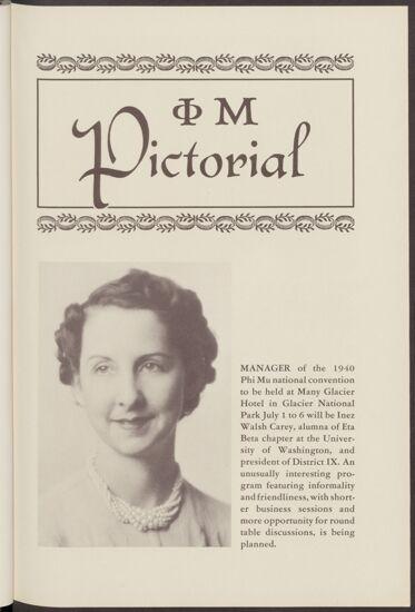 Inez Walsh Carey Portrait, 1939 (image)