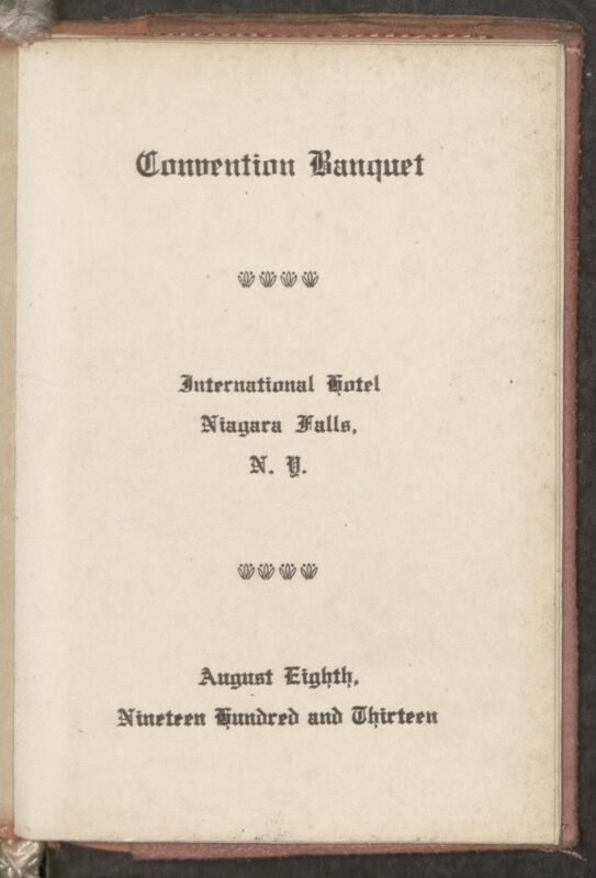 1913 National Convention