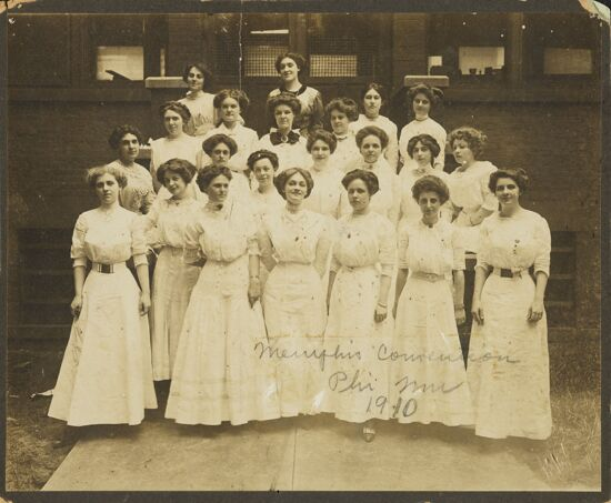 1910 National Convention Image