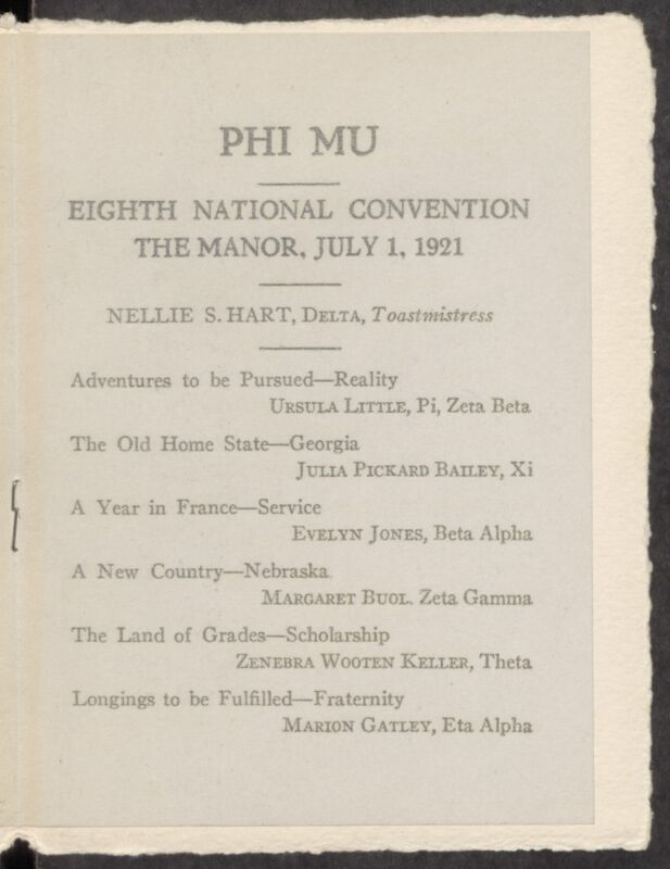 1921 National Convention
