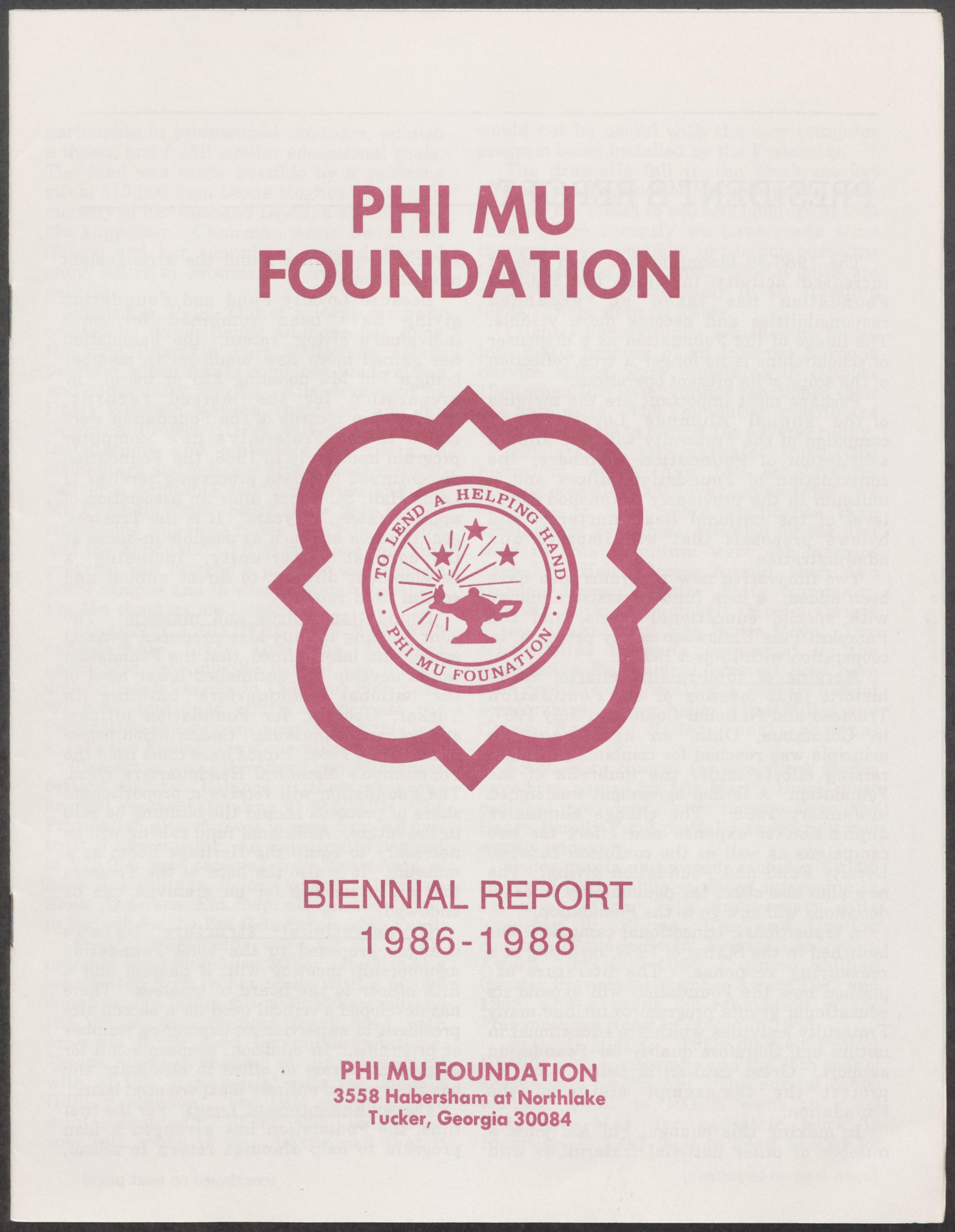 Founding of the Phi Mu Foundation, 1956 Image