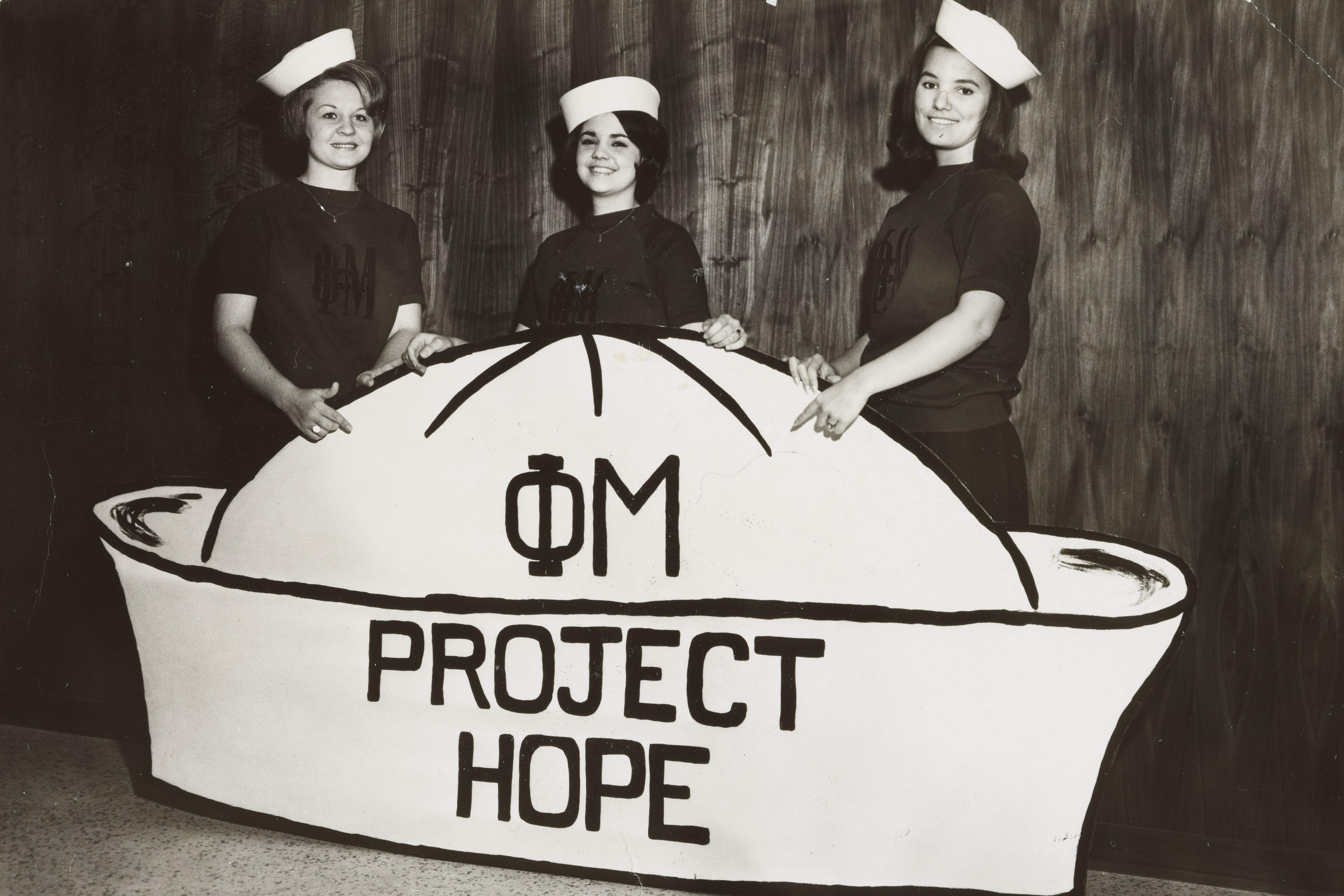 Project HOPE is Adopted as a National Philanthropy, 1963 Image