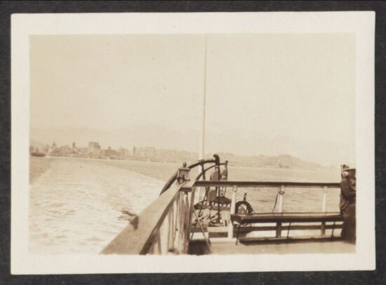 San Francisco from a Boat Photograph, 1923 (Image)