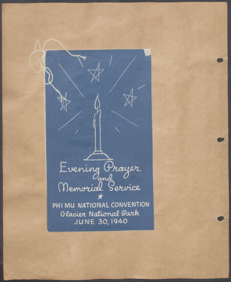 Marion Phillips Convention Scrapbook, Page 4 (Image)