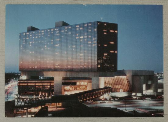 Hyatt Regency Columbus Postcard, c. 1984 (image)