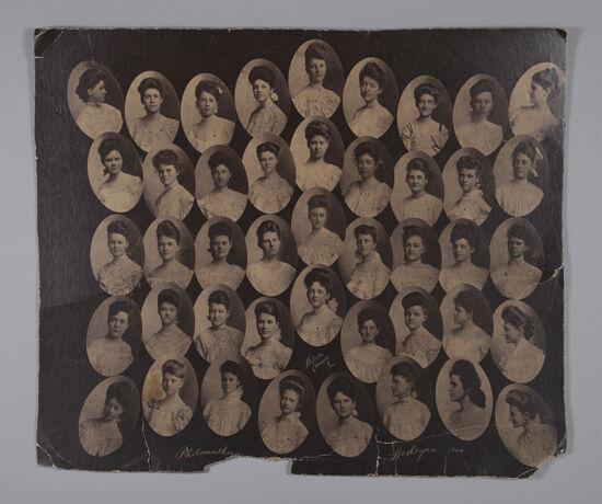Philomatheans Composite Photograph, 1904 (Image)