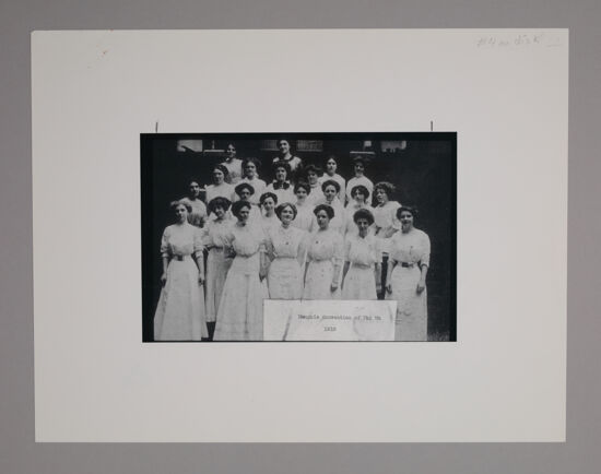 Convention Attendees Photograph, June 21-24, 1910 (Image)