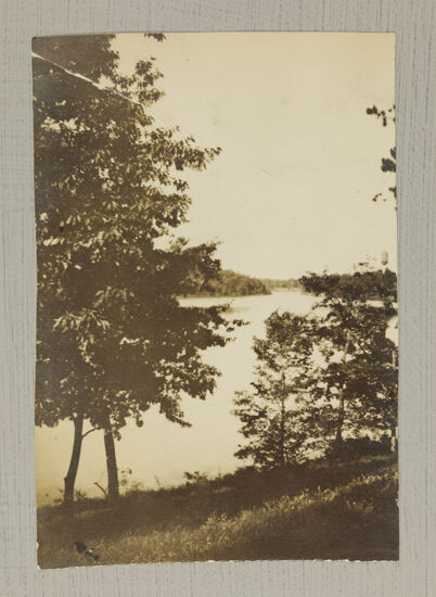 Rainbow Lake View from Convention Hotel Photograph, June 27-July 1, 1916 (Image)